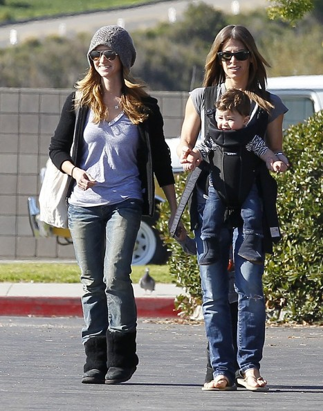 Photo of Jillian Michaels & her Son  Phoenix Michaels Rhoades