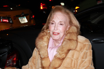 Helen Gurley Brown Helen Gurley Brown Arriving At The Mandarin Oriental Hotel