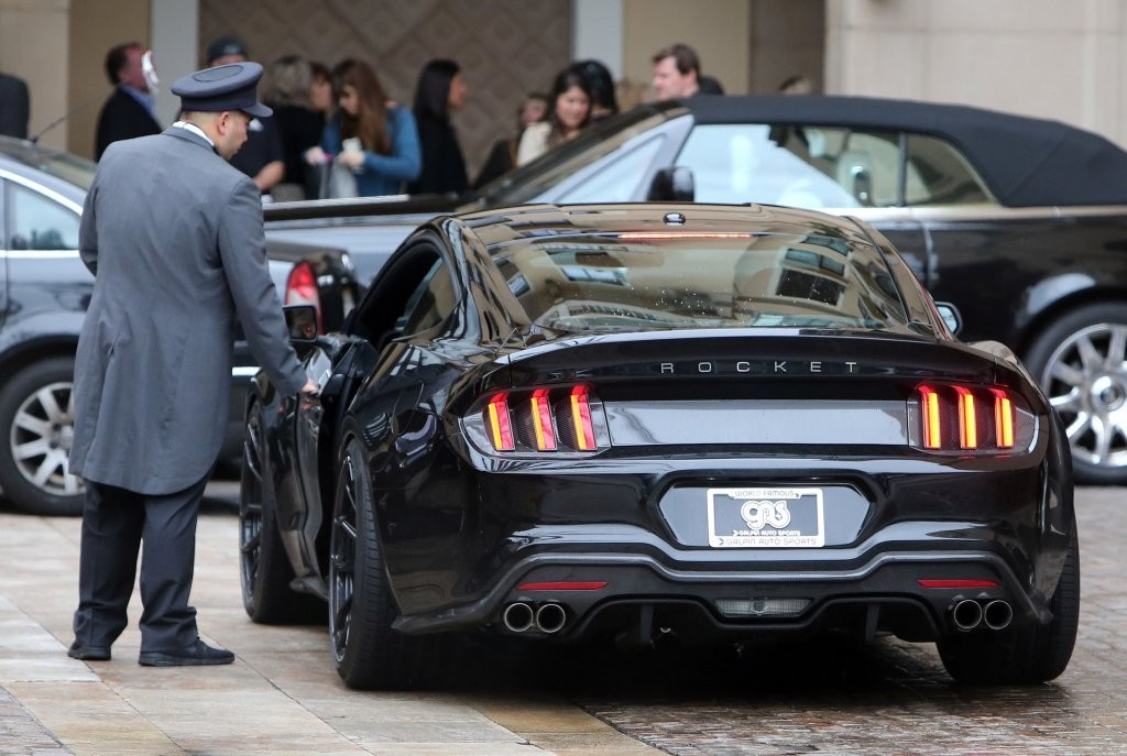 Henrik Fisker Shows Off His New Car Design In Beverly HIlls Zimbio - Beverly hills car show