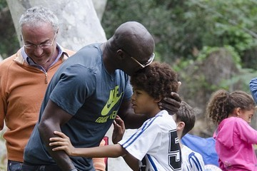 Henry Samuel Heidi Klum & Seal Watch Their Kids Play Soccer