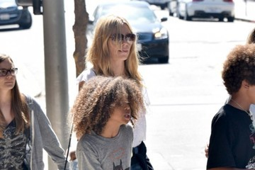 Henry Samuel Heidi Klum Is Spotted out with Her Kids
