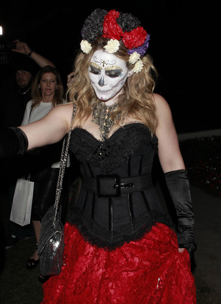 Hilary Duff Photos Photos - Celebrities Attending A Halloween ...