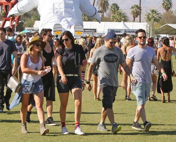 Hilary+Duff+Mike+Comrie+Coachella+Music+