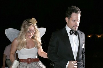 Hilary Duff Mike Comrie Celebs At The Casamigos Halloween Party
