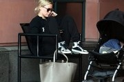 Hilary Duff and Son Luca Out Running Errands