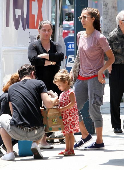 Jessica Alba And Daughter Honor Out In West Hollywood
