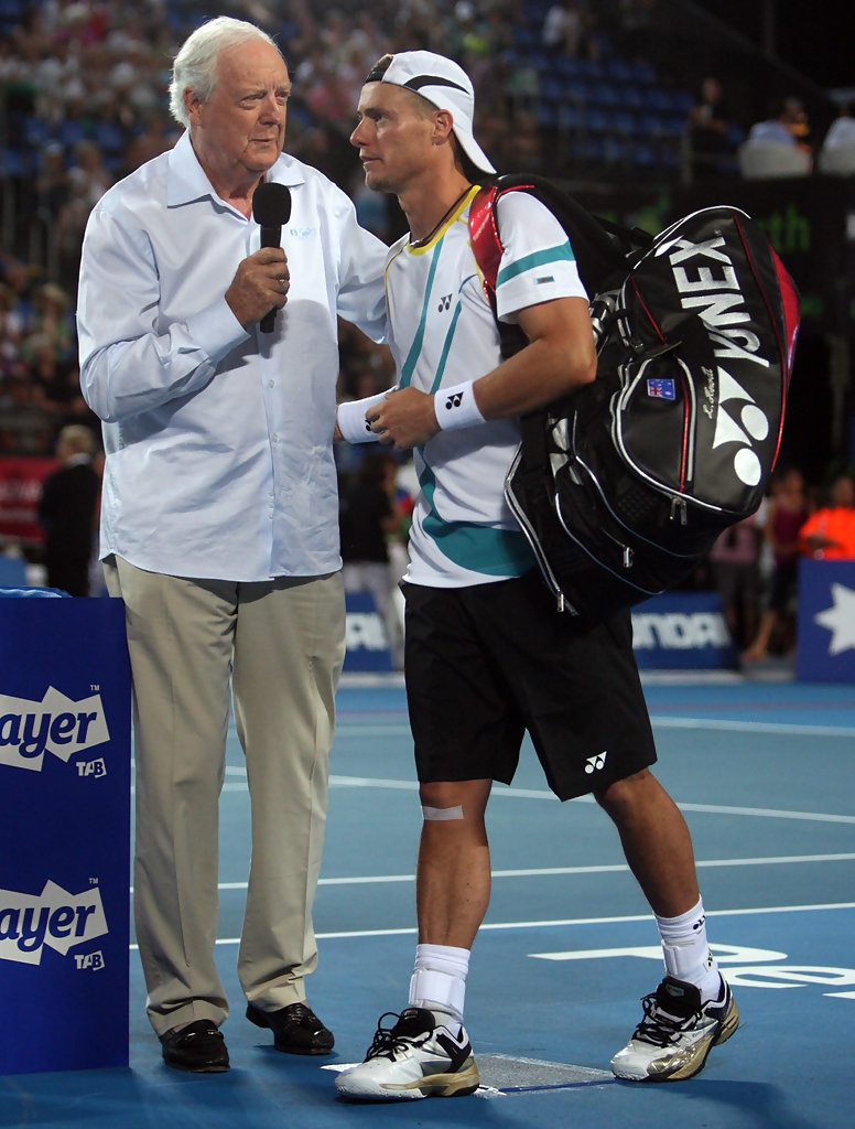 Lleyton Hewitt and Fred Stolle s s Zimbio