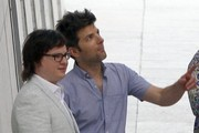 Adam Scott joins the cast of the highly anticipated sequel to blockbuster hit 'Hot Tub Time Machine' as it films in New Orleans on June 12, 2013.
