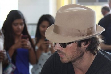 Ian Somerhalder Ian Somerhalder Touches Down in DC