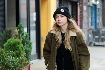 Imogen Poots Imogen Poots Steps Out in New York City