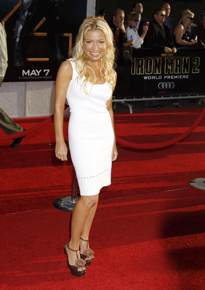 Tracy Anderson Celebrities attend the 'Iron Man 2' world premiere at the El Capitan Theatre in Hollywood, CA.