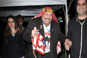 Iron Sheik Celebs Hang Out at Bootsie Bellows Nightclub