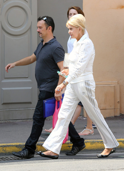Ivana Trump Photos Photos Ivana Trump Shops The Streets Of Saint