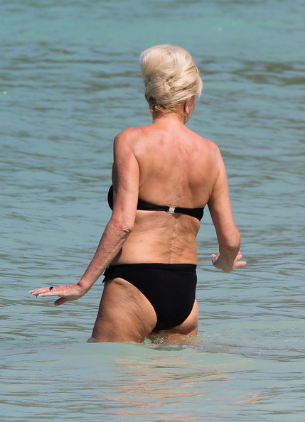 ivana trump struts her stuff in a bikini in this photo ivana trump ...