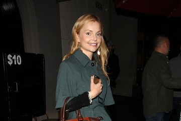 Izabella Miko Celebrities Enjoy A Night Out At Craig's