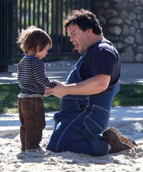 Jack Black And Family Spending The Day At The Park 2 - Zimbio