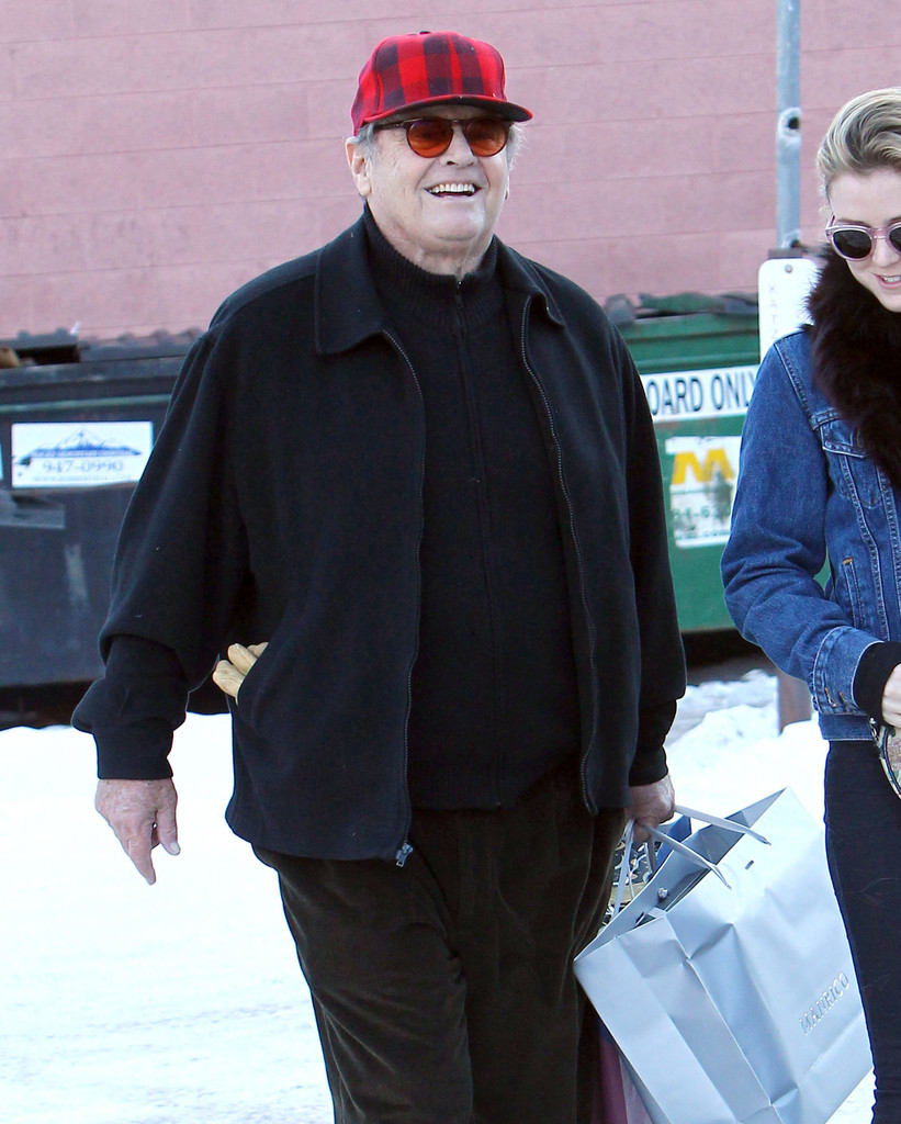 jack nicholson daughter pics jack nicholson daughter lorraine make us weekly