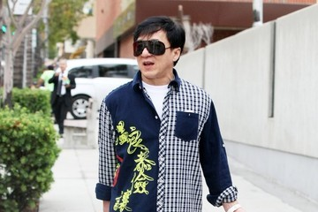 Jackie Chan Jackie Chan Shopping in Beverly Hills