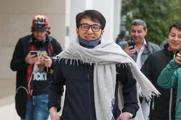 Jackie Chan Jackie Chan Out And About In Beverly Hills