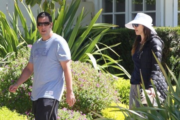 Jackie Sandler Adam Sandler Rides Bikes with His Family