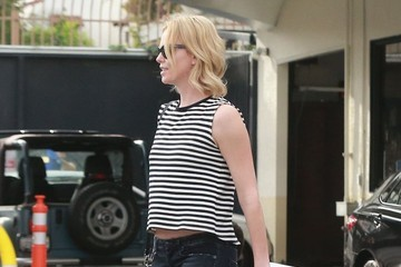 Jackson Theron Charlize Theron Takes Jackson To His Karate Class