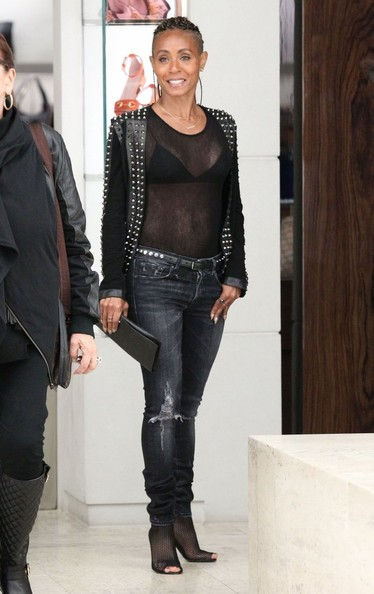 Jada Pinkett Smith - Jada Pinkett Smith Shops in West Hollywood — Part 2