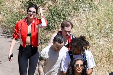 Jaden Smith Kendall Jenner & Jaden Smith Out For A Hike With Friends