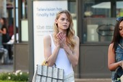 Jaime King Shopping at the Grove With Her Son