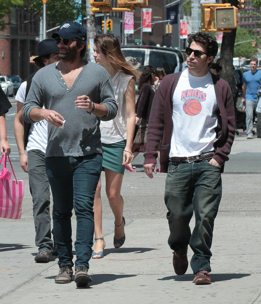 Spotted out and about in new york city, new york on may 6, 2012
