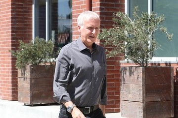 James Cameron Jessica Alba and James Cameron Lunch in Venice