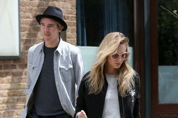 James Cook Poppy Delevingne Poppy Delevingne and James Cook Leaving Their New York Hotel