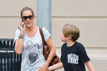 James Wilke Broderick Sarah Jessica Parker Out with Her Son