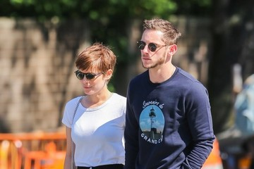 Jamie Bell Kate Mara & Jamie Bell Out and About in NYC