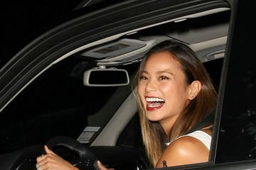 Jamie Chung Celebrities Dine out at Craig's Restaurant in Hollywood