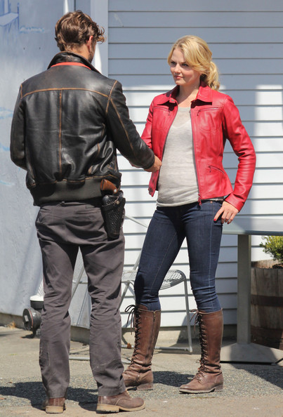 Jennifer Morrison Jamie Dornan Photos - 'Once Upon a Time ...