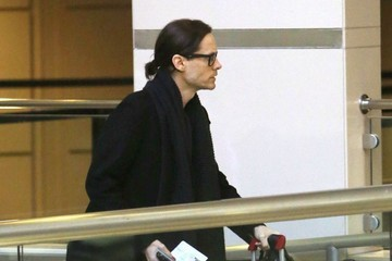 Jared Leto Jared Leto Departing On A Flight At LAX