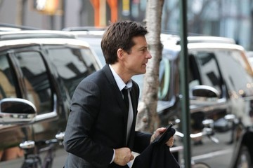 Jason Bateman Jason Bateman Out and About in NYC