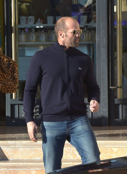 Jason Statham - Jason Statham Goes Shopping At Barneys New York