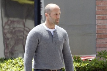 Jason Statham Stars On The Set Of 'Heat' In New Orleans