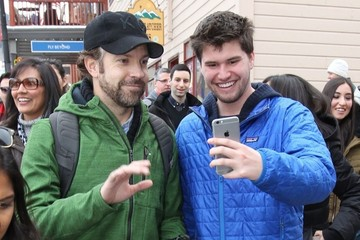 Jason Sudeikis Celebrities At The 2015 Sundance Film Festival