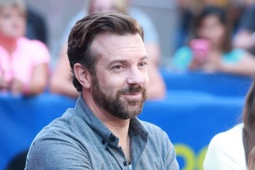 Jason Sudeikis Celebrities Visit 'Good Morning America'