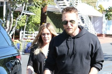 Jason Walsh Hilary Duff and Jason Walsh Shop at Fred Segal in West Hollywood