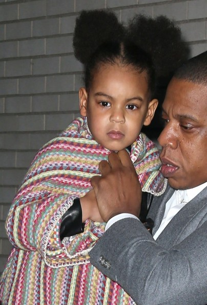 Jay Z Blue Ivy Carter Jay Z Photos Beyonce And Jay Z S Family Movie Night Zimbio