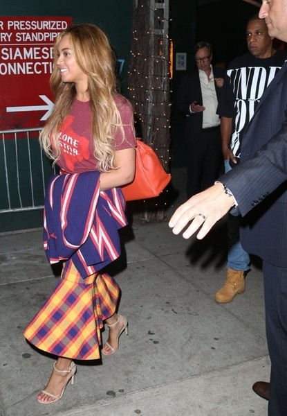 Beyonce and Jay-Z Enjoy a Night Out in NYC