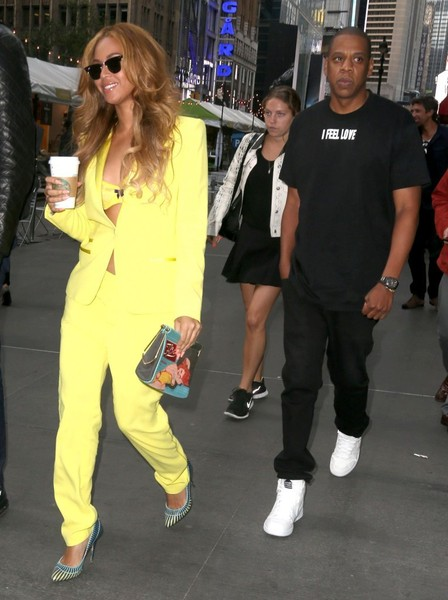 Beyonce and Jay-Z Out in NYC
