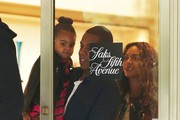 Superstar couple and proud parents Jay-Z and Beyonce take their daughter Blue Ivy shopping at Saks Fifth Avenue in Beverly Hills, California on November 11, 2014. Jay-Z and Beyonce have been out enjoying Los Angeles after recently celebrating Warner North America President Big Jon's 50th birthday.