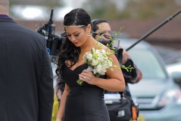 Jenni Farley Nicole 'Snooki' Polizzi & Jionni LaValle Marry In New Jersey