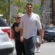 Jennie Garth and David Abrams Photos