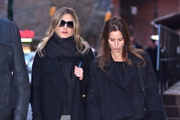 Jennifer Aniston Jennifer Aniston Out for Dinner in NYC