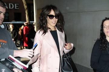 Jennifer Beals Celebrities At 'The Today Show' In NYC
